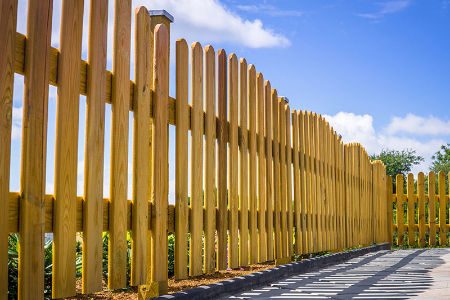 Which fence stain color for your irvington home