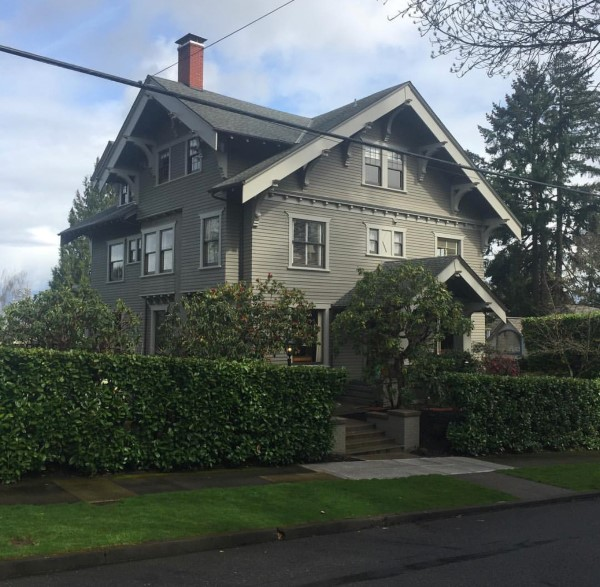 Painting One of Portland's Grand Old Homes